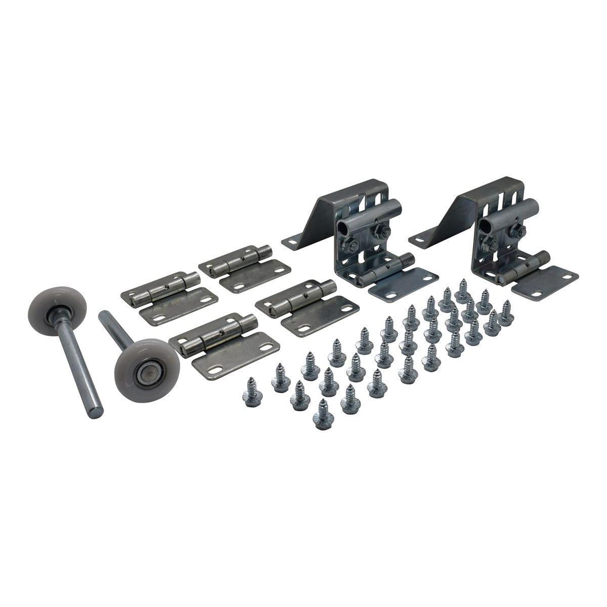 Hardware kits per section