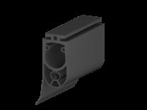 Contactlijstprofiel 25x45mm, met afdichtlip