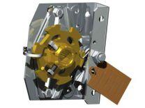 "Spring break device for industrial doors with 1"" shaft - left"