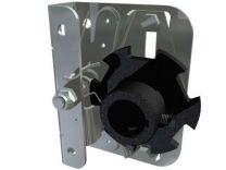 "Spring break device for industrial doors with 1 1/4"" shaft - left"