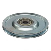 Cable pulley, steel 80x10mm - maximum 4mm cable