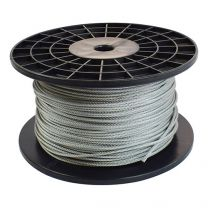 Lifting cable 4mm, stainless steel - per meter