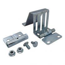 Side hinge, stainless steel