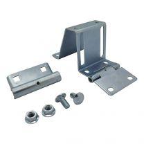 Side hinge for finger safe panels