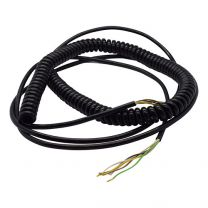 Spiral cable 5x0,25mm2 - 1800mm