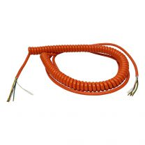 Spiral cable 5x0,50mm2 - 1800mm