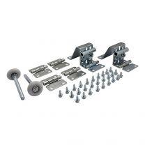Hardware kit for non-fingersafe panels