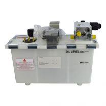 Hydraulic power unit 1,5kW, swinglip 100kN, 2 valves
