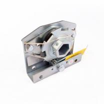 Spring break device suitable for 32mm Crawford hexagonal shaft - left