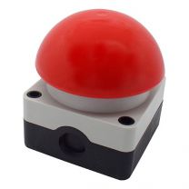 Mushroom button, red