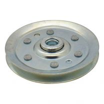 Cable pulley, galvanized steel 64x10mm - maximum 3mm cable