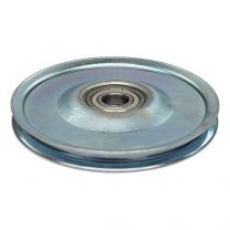 Cable pulley, galvanized steel 140x10mm - maximum 6mm cable