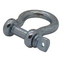 Shackle for pull rope
