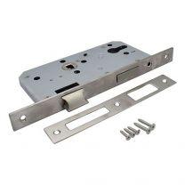 Lock mechanism for pass doors - universal