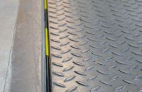 Rear seal for dock levellers, 40mm lip, length 2250mm