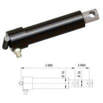 Swing lip cylinder Ø30 E-Min=230, E-Max =330mm
