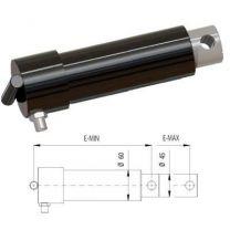 Swing lip cylinder Ø45 E-Min=230, E-Max =330mm