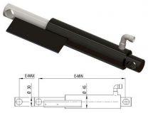 Swing lip cylinder Ø30 E-Min=290, E-Max =390mm