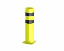 Set bollards, yellow, diameter 275mm