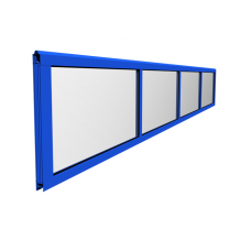 Full vision section, non finger safe version, coated 5000x610mm/4 fields