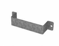 Wall bracket for wheel chock